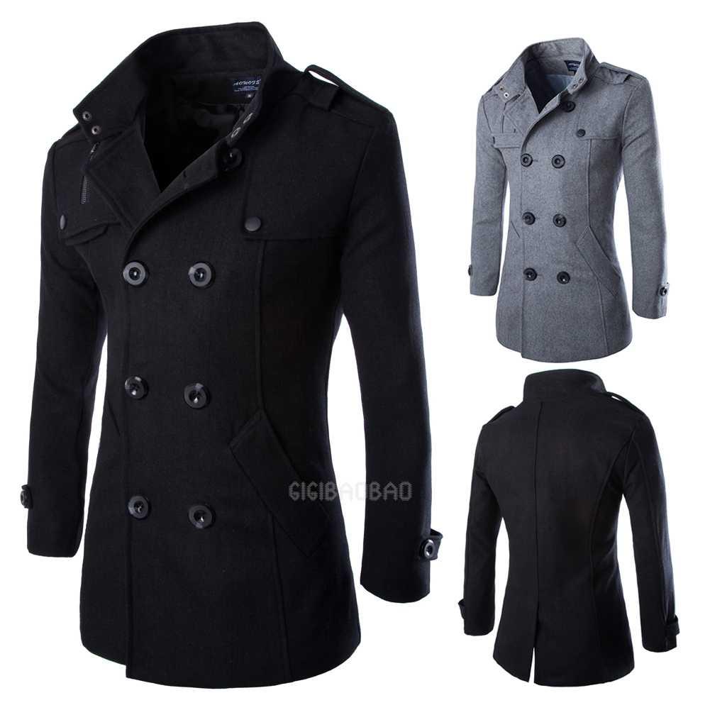 Mens Long Coat - Coat Nj
