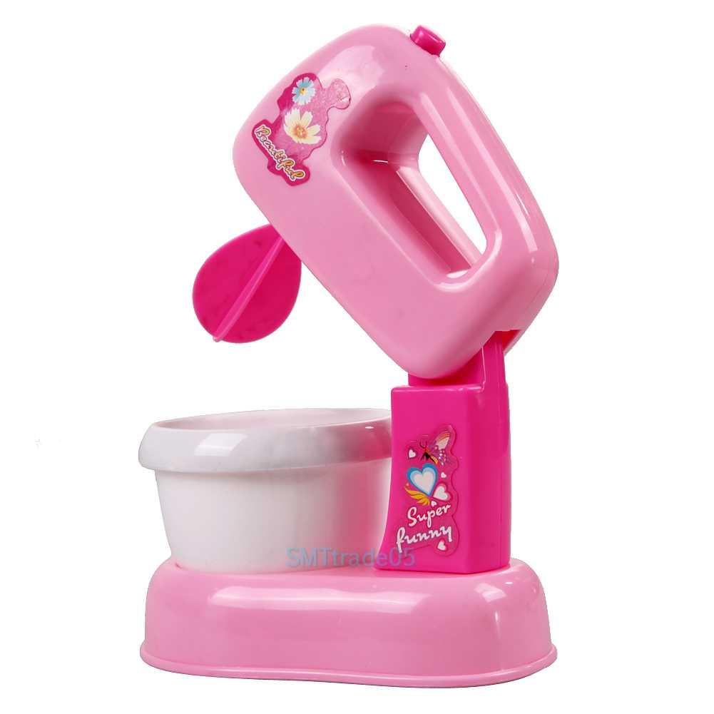 Toy Hand Mixer ~ Child kids toy pretend kitchen electric cake blender mixer