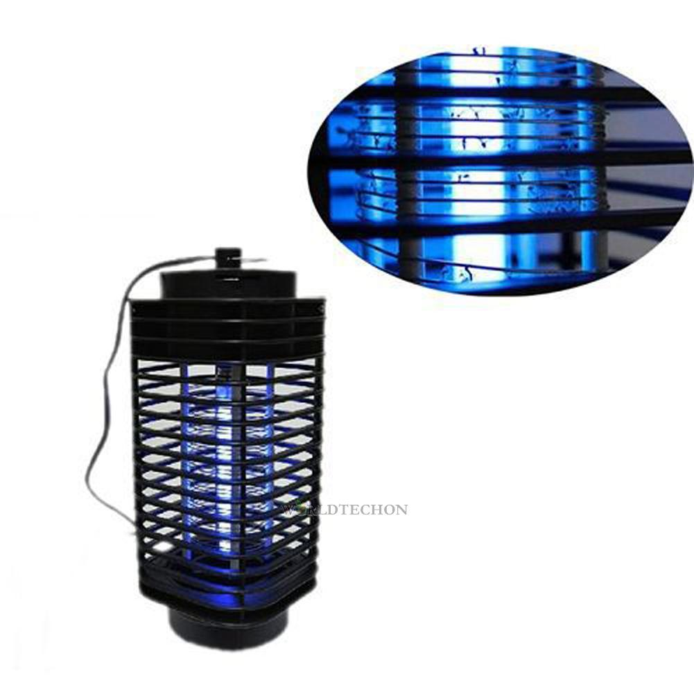 electric uv light flying insect killer grill mosquito pest fly bug zapper black ebay. Black Bedroom Furniture Sets. Home Design Ideas