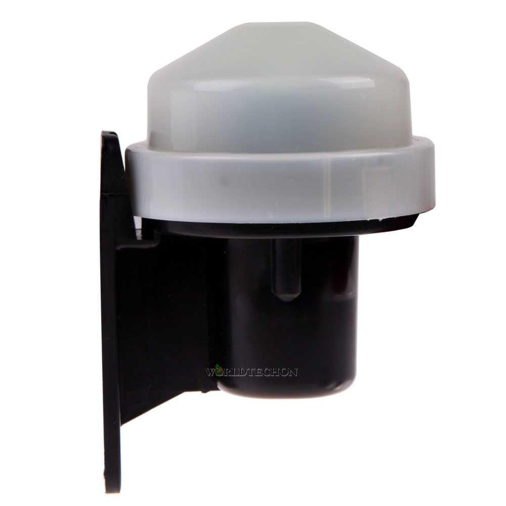 Dusk To Dawn Light Sensor: Photocell Outdoor Timer Light Switch Daylight Dusk Till